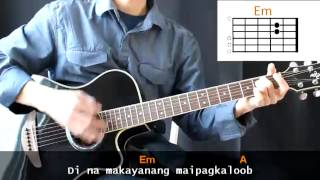 Raymund Remo - Ang Tanging Alay Ko Cover With Guitar Chords Lesson