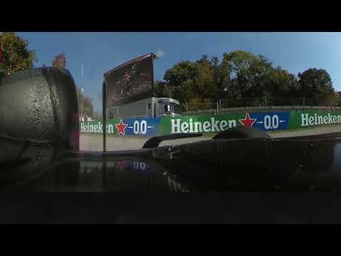 360度映像で見るフェルスタッペンとハミルトンのクラッシュシーン動画 F1第14戦イタリアGP(モンツァ)
