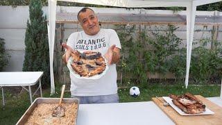 Крылышки индейки по-армянски на мангале. BBQ Dinde recette.