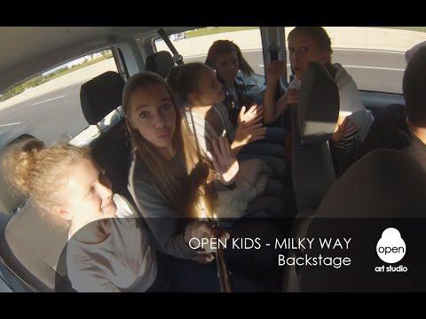 Open Kids - Milky Way (Backstage) - Open Art Studio
