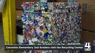 Columbia Elementary 2nd Grader visit Recycling Center