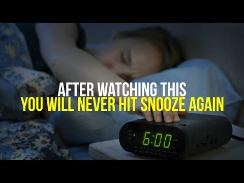 Why Hitting Snooze May Be a Bad Thing in the Mornings