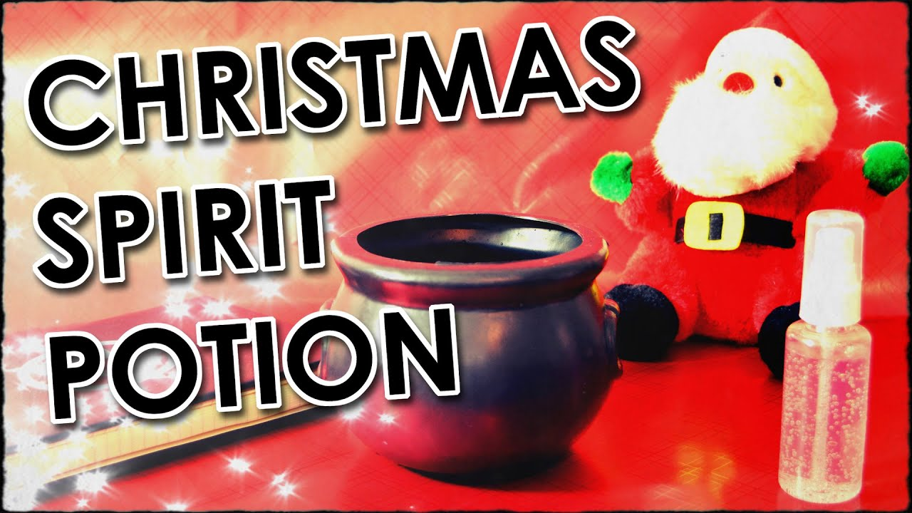 How To Make A Christmas Spirit Potion