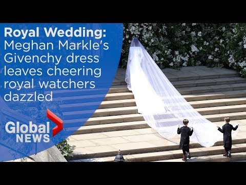 Royal Wedding: Meghan Markle's wedding dress revealed