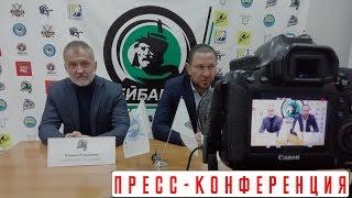Пресс- конференция по итогам матчей «Бейбарыс» - «Кулагер», плей-офф