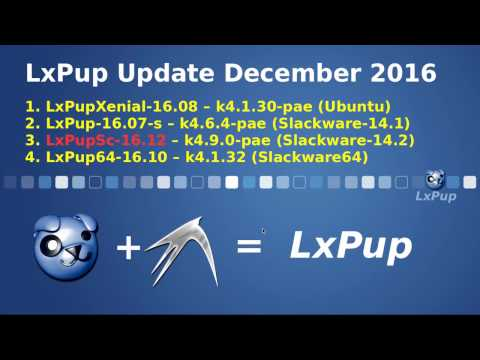 LxPup - Puppy Linux + LXDE download | SourceForge net