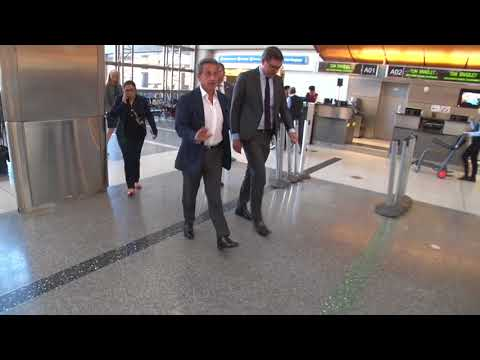 former president France Monsieur Sarkozy at lax lapd  and the 1 amendment  freedom of press PASS