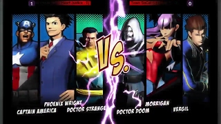 UMVC3 UNDEFEATED 2017 (Team Vegas (W) I Heart Justice) Vs (Team SoCal (L) Chris G)