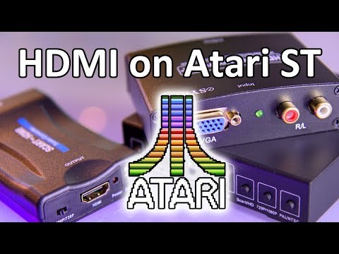 Atari ST on modern display (HDMI) - The Ultimate Guide