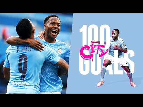 RAHEEM STERLING | All 100 Goals for Man City