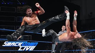 Shinsuke Nakamura vs. Dolph Ziggler: SmackDown LIVE, June 20, 2017 | Kholo.pk