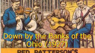 Red Patterson's Piedmont Log Rollers - Down on the Banks of the Ohio (1927)