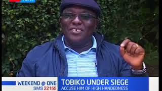 Political leaders from Embu are calling  for the immediate removal of Keriako Tobiko