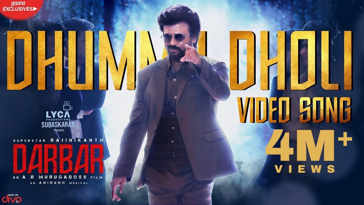 Dhummu Dholi Video Song From Darbar