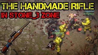 """The """"Handmade Rifle"""" in sector7 stone_3 zone - buddys help to clear zone 