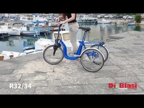 Triciclo per anziani Tricy Life