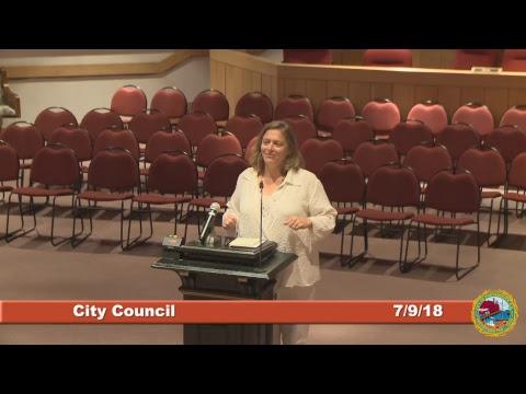 City Council 7.9.18