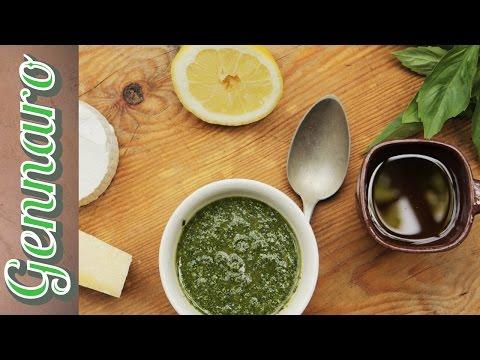 Traditional Basil Pesto | Gennaro Contaldo