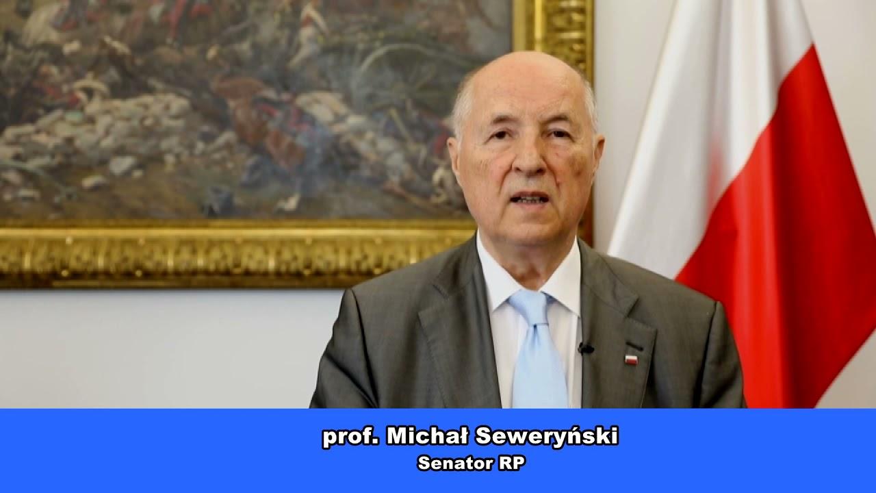Życzenia prof. Michała Seweryńskiego