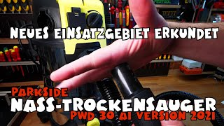 Nass-Trockensauger PWD 30 Vers. 2021 von Lidl - PARKSIDE®