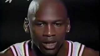 Michael Jordan - Interview about 3-point Shooting - 1992 NBA Finals, Game 2.mp4