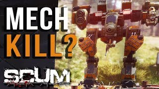 Can You Kill the Mech? | SCUM