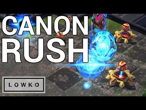 StarCraft 2: Cannon Rush vs Cannon Rush!