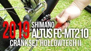 Shimano altus fc-mt210-2