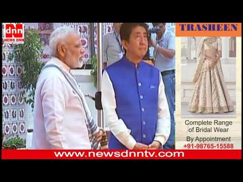 PM Modi visits Sidi Saiyyed ki Jaali with Prime Minister Shinzo Abe of Japan