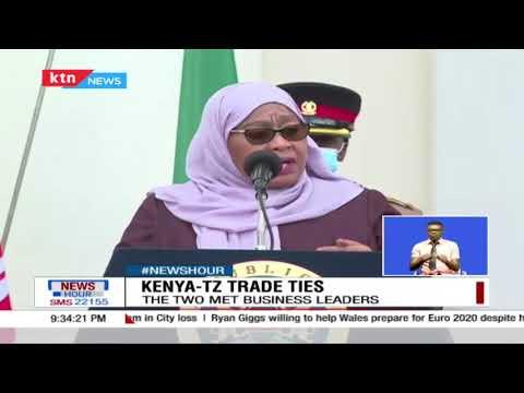 Samia Suluhu's visit to Kenya revives Kenya-Tanzania trade relations, inks gas deal with Uhuru