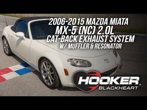 Hooker Blackheart Miata NC Cat-Back Exhaust w/Muffler