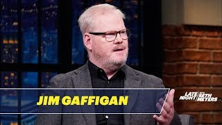 Jim Gaffigan Told Jokes About His Wife's Brain Tumor