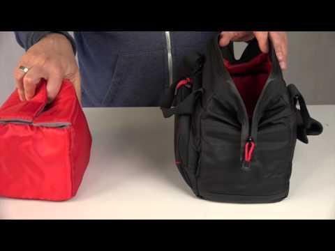Hama Multitrans 140 Kamera-Arzttasche für eine Kamera und Zubehör