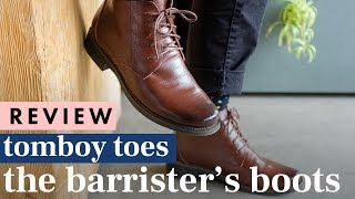 REVIEW: Tomboy Toes - The Barrister's Boots