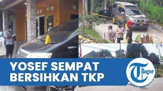 Saksi Mengaku Sempat Lihat Yosef Bersihkan TKP Pembunuhan di Subang, Ngakunya Beres-beres Rumah