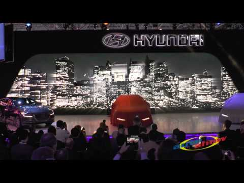 Hyundai introduced its 2015 Sonata