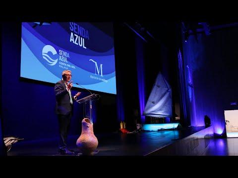 Presentación del proyecto de la Senda Azul al sector empresarial de la provincia de Málaga