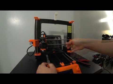 Prusa i3 MK2S Hot End Repair / Bearing Upgrade - смотреть