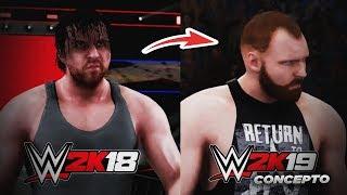 WWE 2K19 ENTRADAS (Conceptos) | Seth Rollins, Dean Ambrose & Tommaso Ciampa