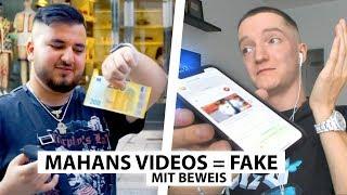 Justin reagiert auf Mahan's Fake Video (mit Beweis) | Reaktion
