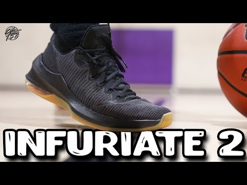 Nike Air Max Infuriate 2 Low Performance Review! $80 Budget Shoe!