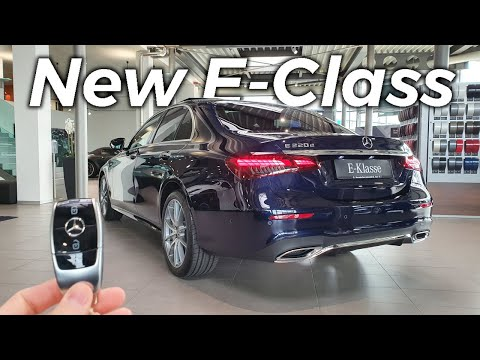 New Mercedes E-Class Sedan Limousine 2021