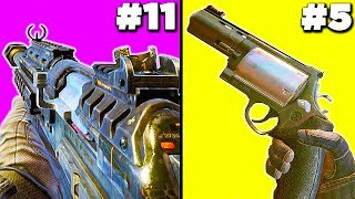 Top 20 WORST Guns in Cod History (HARD LIST)