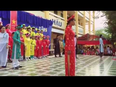 Trình Diễn Thư Pháp Trường THCS Long Thạnh