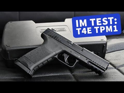 4komma5: Test: Freie Waffe T4E TPM-1 als Set von 4komma5 – für Training und Home-Defence