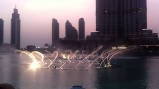 Танцующий фонтан. Арабские эмираты,Дубаи