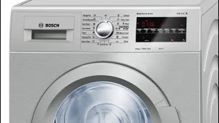 How To Fix A Bosch Washer DOOR LOCK