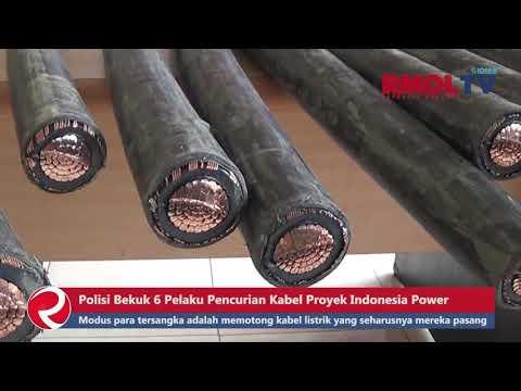 Polisi Bekuk 6 Pelaku Pencurian Kabel Proyek Indonesia Power