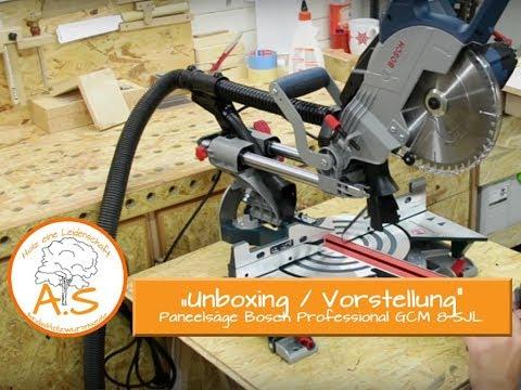 Unboxing / Vorstellung Paneelsäge Bosch Professional GCM 8 SJL