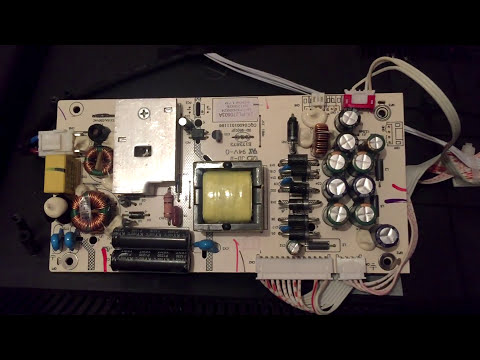 Ремонт телевизора AKAI LEA-32M19P Не включается